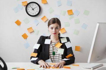 angajat stresat, cu multe atributii